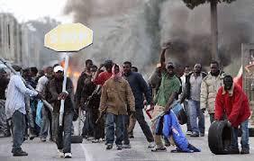 Выступления мигрантов в январе 2010-го