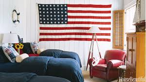 decor red blue room full: patriotic decor for th of july red white and blue decorating ideas