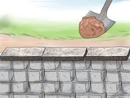how to build a dry stack retaining rock wall 9 steps build wall