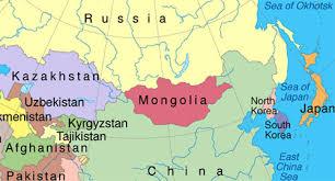 Resultado de imagen para mapa de mongolia