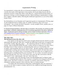 argumentative essay writing format essay topics example of argumentative essay
