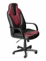 Компьютерное <b>кресло Tetchair NEO 1</b> Бордовый/Черный – купить ...