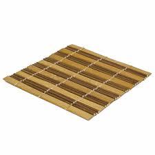<b>Набор чайных циновок</b> (<b>бамбук</b>), двухцветные, 10 х 10 см, 5 шт ...