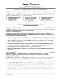 Manufacturing Engineer Resume Sample Lighting And Design Engineer Resume