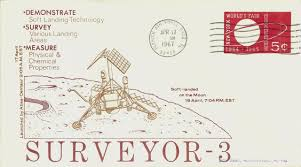 「1967, surveyor 3 landed on earth」の画像検索結果