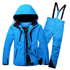 Plus Size Men <b>Ski Suit Ski Jacket</b> and Pants Men Snowboarding ...