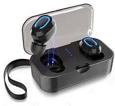 <b>T18S Invisible Wireless Earbuds</b> 5.0 Bluetooth Earphone I9s I10 ...