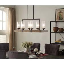 vineyard 6 light metal and wood chandelier chandelier pendant lighting