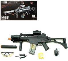 Игрушечное оружие Автомат <b>Double Eagle</b> M85P <b>аккумулятор</b>, с ...