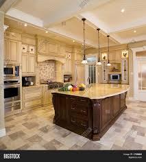 wood counter bigstock kitchen x