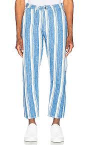 <b>LEVI'S</b>: <b>Made & Crafted</b> Draft Crop Carpenter Pant in Linen Stripe ...