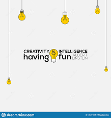 Creativity Is Intelligence Having <b>Fun Wall</b> Art, <b>Albert Einstein</b> Quotes ...