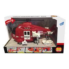 <b>Игрушка BIG MOTORS</b> Спасательный <b>вертолет</b> (WY760B)