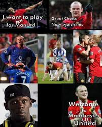 Welcome To Man UTD - Funny Pictures at Videobash via Relatably.com