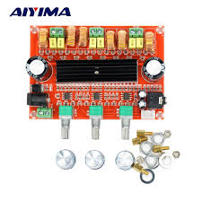 <b>TPA3116 2.1 Digital Audio</b> Amplifier Subwoofer Speaker Board ...