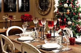 Christmas Dining Room Dining Room Table Design For Christmas 2017 Decoration Chief