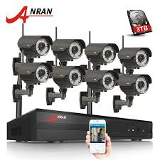 <b>ANRAN</b> Plug And Play 8CH NVR WIFI CCTV System P2P <b>1080P</b> H ...