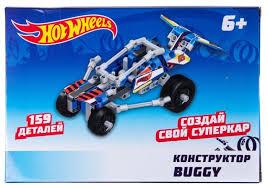 Винтовой <b>конструктор 1 TOY Hot</b> Wheels T15403 Buggy — купить ...