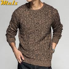 Colored Wool Thick Twist <b>Sweater Pullovers Men 2018</b> Autumn ...