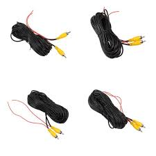 RCA Video Cable 10m 12m 15m For <b>Car Reverse Rear View</b> ...