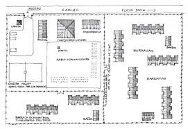 prisoners of ritoque ritoque concentration camp approximate site plan drawn by miguel lawner 2005 courtesy of miguel lawner private collection