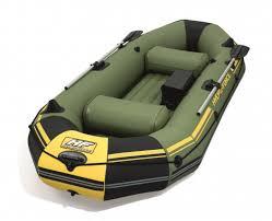 Надувная <b>лодка Bestway Marine Pro</b>, 291x127x46 см 65096 ...