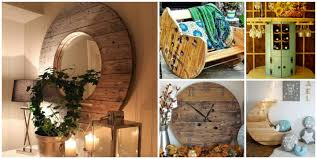 15 diy wood wire spool furniture ideas and tutorials build your own wood furniture
