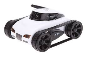 <b>Радиоуправляемый</b> мини танк-шпион <b>Happy Cow</b> i-Spy с камерой ...