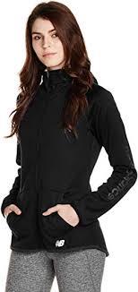 New Balance Women's <b>Nb core Fleece Full Zip</b>, Black, X-Small ...