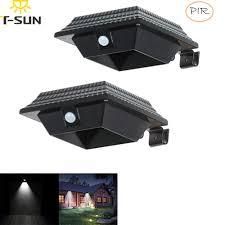 <b>T SUNRISE</b> 2 <b>PACK</b> Outdoor Solar Light Spotlight Garden Lamp ...