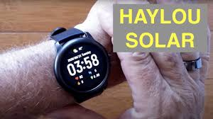 XIAOMI YOUPIN <b>HAYLOU</b> SOLAR IP68 Waterproof Sports Fitness ...