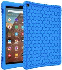 FINTIE <b>Silicone Case</b> for All-New Amazon Fire HD 10 <b>Tablet</b>