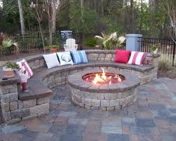 fireplace flagstone accents traditional patio backyard landscape and patio design with outdoor fireplace ideas also