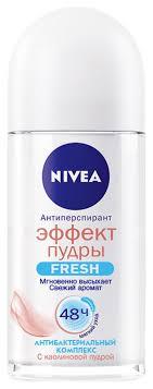 Шариковый <b>дезодорант</b>-антиперспирант Эффект пудры <b>Fresh</b> ...