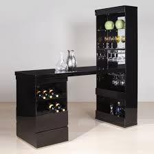 large size of kitchen awesome black wood glass unique design home bar interior cabinet racks goblet charming home bar design