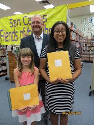 san carlos friends of the library local winners of th annual lina zavala s logan mckerring and nicolette hay s essays will represent