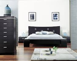 style minimalist bedroom white bed