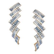 <b>Balenciaga Позолоченные серьги</b> с кристаллами EVENING | www ...