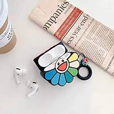 Buy Thboxes <b>Rainbow</b> Flower <b>Headphone</b> Cases for Airpods 1/2/3 ...