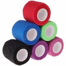 <b>6pcs</b> Disposable <b>Self</b>-adhesive Elastic Bandage for Handle Grip ...