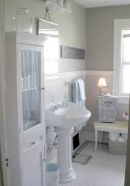 bathroom design extraordinary classy white themes bathroom armoire with white porcelain pedestal sink as decorate in bathroomdrop dead gorgeous tropical