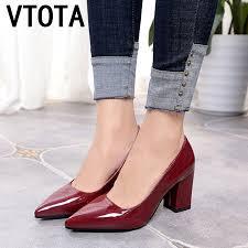 <b>VTOTA Ladies</b> High Heel <b>Non Slip</b> Pointed Career Single <b>Shoes</b> ...