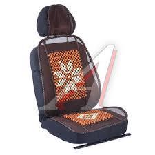 46863 <b>Накидка на сиденье</b> массажная деревянная с сеткой с ...