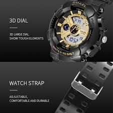 <b>SMAEL Brand Fashion Women</b> Digital Watch Sport Waterproof ...