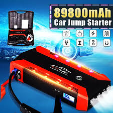 89800mAh <b>12V</b> 4USB <b>Car Jump Car Emergency Starter</b> Engine ...