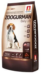 <b>Корм Зоогурман сухой корм</b> для собак средних и крупных пород ...