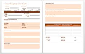 doc 1279825 incident report templates smartsheet bizdoska com now