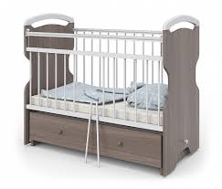 <b>Кроватка Атон</b> Мебель <b>Elsa</b> шимо темный белый - купить в Уфе ...