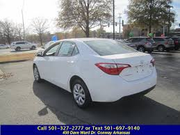 Honda World Conway Used 2016 Toyota Corolla For Sale At Honda World In Conway