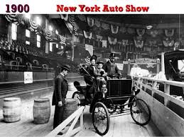 「1900, the first motor show in new york」の画像検索結果
